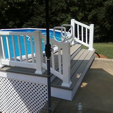 Traditional Pool by Dudley DoRight Home Improvements