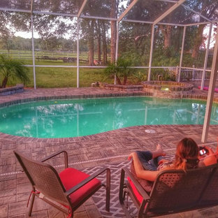 Photo of a country pool in Tampa.