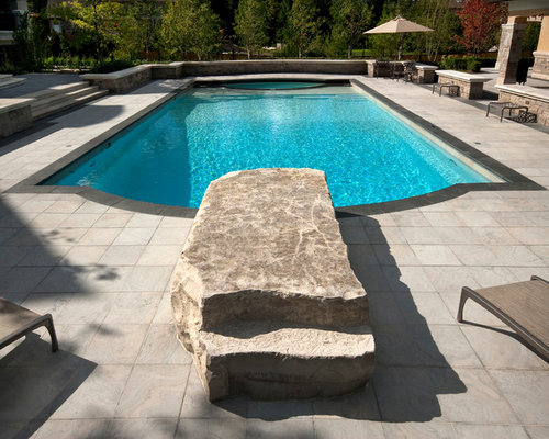 Stone Diving Platform Houzz