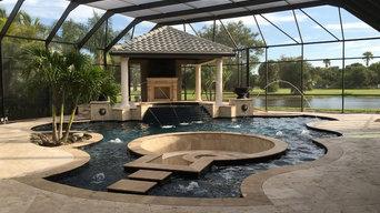 Pool designed by Copley Design Associates