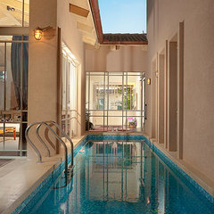 contemporary pool by Elad Gonen & Zeev Beech