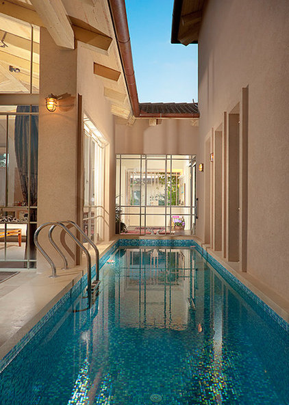 Contemporary Pool by Elad Gonen