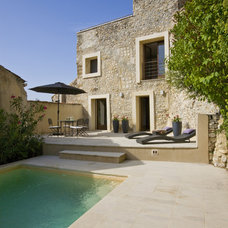 Mediterranean Pool by Studio Santalla, Inc