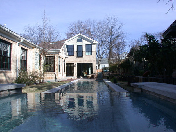 Traditional Pool by Fatter & Evans Architects, Inc.