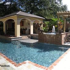 Eclectic Pool by Ferris Land Design - Richard Hymel, ASLA