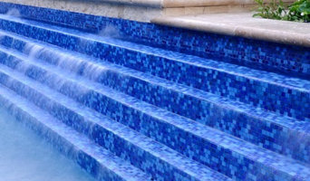 Pool Glass Tiles and mosaics and Landscape Products