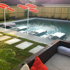 Contemporary Pool by Cat Anderson Design