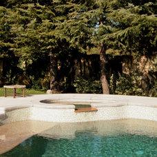 Traditional Pool by Nunley Custom Homes