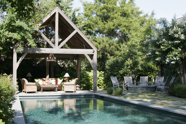 Traditional Pool by Carter Kay Interiors