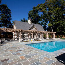 Traditional Pool by Colonial Homecrafters, Ltd.