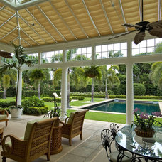 Traditional Pool by Town and Country Conservatories