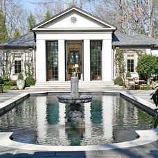 Traditional Pool by Elizabeth Anne Star Interiors