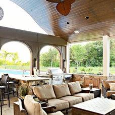 Eclectic Pool by Edgework Builders, Inc.