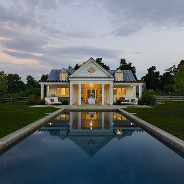 Pool House in the Country