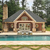 A Georgia Pool House Swims in Luxurious Features