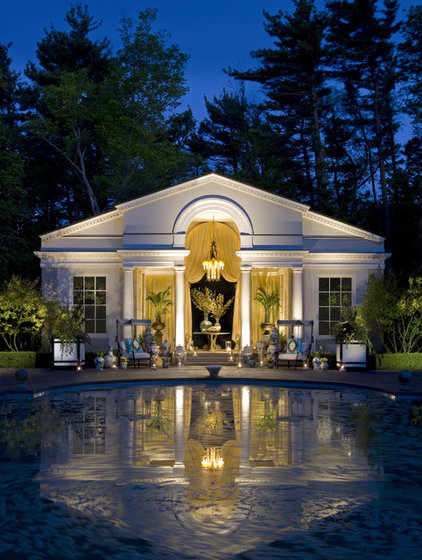 Traditional Pool by Marshall Morgan Erb Design Inc.