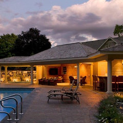 traditional pool by Stonewood, LLC