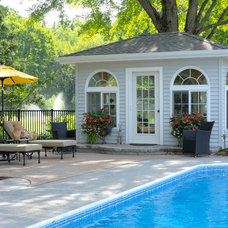 Traditional Pool by Taylor Bryan Company
