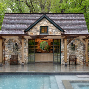 Pool Houses and Outdoors Environments