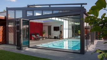 Pool im Wintergarten - RIvieraPool Kara 675