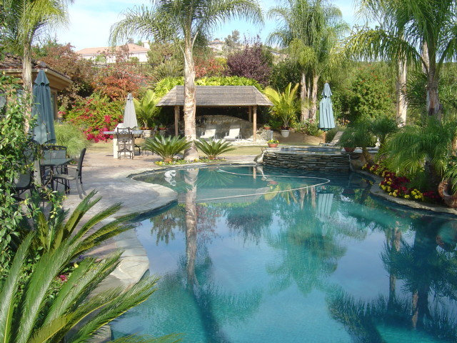 Tropical Backyards With A Pool - Home Decorating Ideas on Tropical Backyard Ideas With Pool id=55900