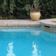 Mediterranean Pool by Filmore Clark