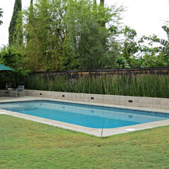 contemporary pool by Lisa Hallett Taylor