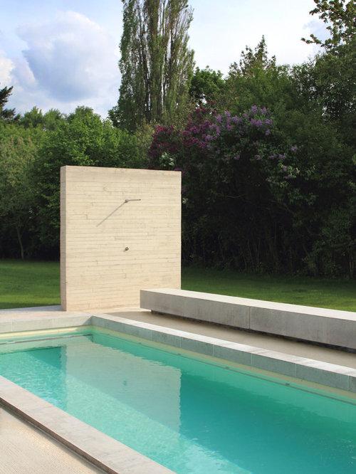 foto e idee per piscine piscina con un acquascivolo germania. Black Bedroom Furniture Sets. Home Design Ideas