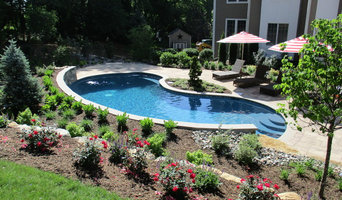 Pool, patio and landscape project  in Chester NJ