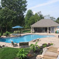 Traditional Pool by Pebble Pools, Inc.