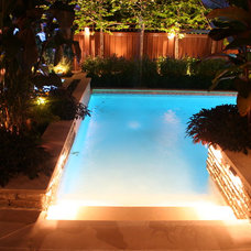 Contemporary Pool by Little Miracles Designs