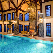 Traditional Pool by Rocky Mountain Pools & Spas