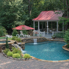 traditional pool by Elements Landscape LLC