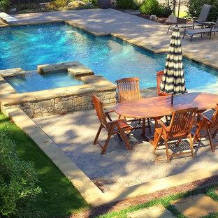Elegant pool photo in Atlanta