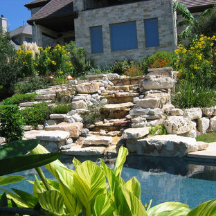 Inspiration for an eclectic pool remodel in Austin