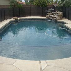 Traditional Pool by Arizona Pool Service