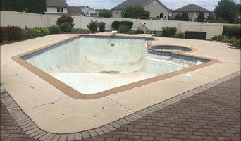 Pool Renovation including tile, coping, & finish in Northampton