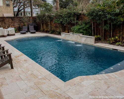 Foto e idee per piscine piscina con fontane new orleans