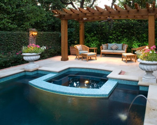 Pool pergola home design ideas pictures remodel and decor for Pool design houzz
