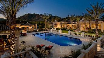 Pool Retreat and Backyard patio