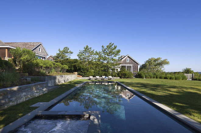 Beach Style Pool by Robert Young Architects