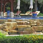 Swananoah Residence Contemporary Pool Dallas By