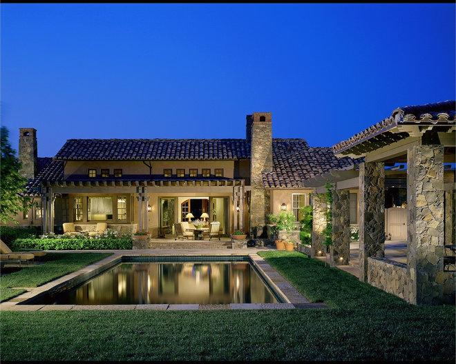 Mediterranean Pool by Saint Dizier Design