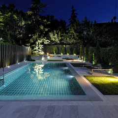 modern pool by Sergio Olazabal