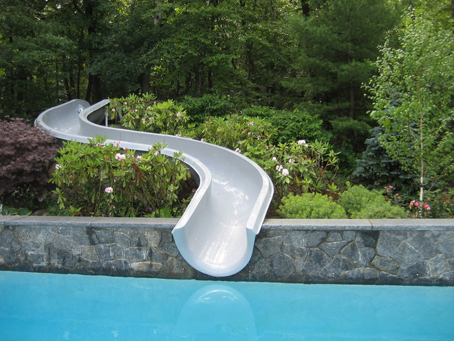Contemporary Pool by Timothy Sheehan, ASLA