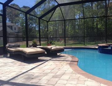 Pool, Spa and Enclosure