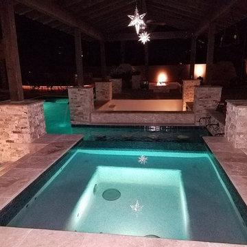 Pool/Spa Backyard Peoria AZ