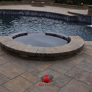 Pool-Spa-Redo-Patio-Steps-BBQ-Fire-Pit-Walls-Driveway-VIEW-3