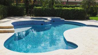 Pool/spa remodel