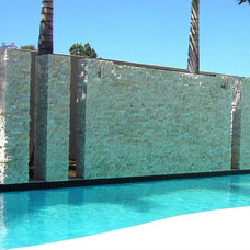 Modern Pool by Realstone Systems